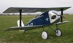Flitzer Biplane - 1/4-Scale Homebuilt Bipe Model Airplane Kit