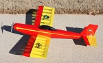 Fidget - Sport Model Airplane for 3-Channel or Galloping Ghost RC Systems