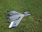 Vought F7U-3M Cutlass - Scale American Jet (EDF) fighter Model Airplane Kit