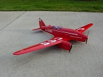 de Havilland DH.88 Comet - Sport scale twin-engine British racer  Model Airplane Kit