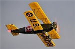Fleet Biplane - Scale 1930's Trainer Biplane Model Airplane Kit