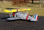 Grumman F3F-2 - Prewar American naval biplane fighter Model Airplane Kit
