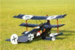 Fokker Dr.1 - Sport scale WW1 German Triplane Fighter Model Airplane Kit