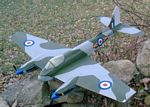 DeHavilland DH-103 Hornet - Scale WW2 British fighter bomber Model Airplane Kit
