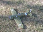 Macchi C.200 - Scale WW2 Italian fighter Model Airplane Kit