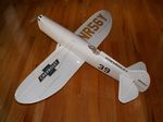 Howard DGA-5 Ike - Sport scale Golden Age racer Model Airplane Kit