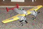 Grumman XF5F Skyrocket - Scale American twin-engine fighter prototype Model Airplane Kit
