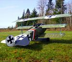 Fokker Dr.1  N152 - Sport 1/6 scale WW1 German fighter Model Airplane Kit