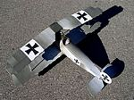 Fokker D.V  N081 - Sport 1/8 scale WW1 German fighter Model Airplane Kit