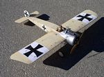 Fokker E.III  N123 - Sport 1/9 scale WW1 German fighter Model Airplane Kit