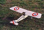 Morane Saulnier L/Pfalz A.1  N003 - Sport 1/12 scale WW1 French fighter Model Airplane Kit