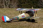 Nieuport 28  N165 - Sport 1/6 scale WW1 French fighter Model Airplane Kit