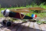 Nieuport Triplane  N145 - Sport 1/8 scale WW1 French fighter Model Airplane Kit