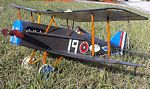 RAF SE-5A  N083 - Sport 1/12 scale WW1 British fighter Model Airplane Kit