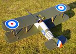 Sopwith Snipe  N159 - Sport 1/9 scale WW1 British fighter Model Airplane Kit