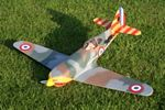 Dewoitine D.520 - Scale WW2 French fighter Model Airplane Kit