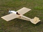 Eastbourne Monoplane 1913 - Scale Early British Monoplane Model Airplane Kit