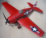 Grumman F6F Hellcat - Sport scale WW2 American Fighter Model Airplane Kit