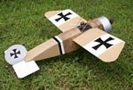 Hergt Monoplane - Sport scale German WW1 Fighter Model Airplane Kit