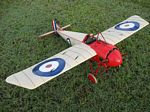 Morane Saulnier N Bullet - Sport scale French WW1 Fighter Model Airplane Kit