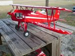 Rose Parakeet - Scale US Civilian Postwar Biplane Model Airplane Kit