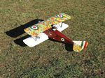 Ansaldo A.1 Balilla - Scale plane WW1 Italian Fighter Biplane Model Airplane Kit