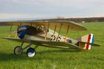 SPAD XIII - Scale WW1 French Fighter Biplane Model Airplane Kit