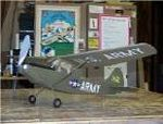 L-19 Bird Dog FF - Scale plane Model Airplane Kit