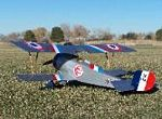 Nieuport 17 - Scale WW1 French Fighter Biplane Model Airplane Kit