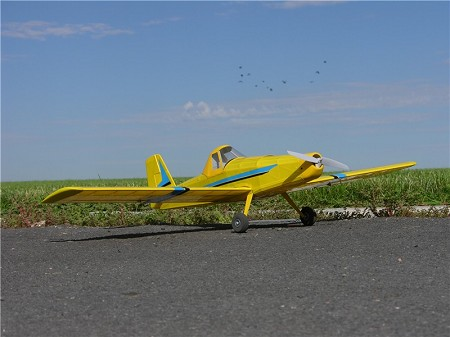 "AT-502 Air Tractor - Scale 40"" Civilian Monoplane Cropduster Postwar"