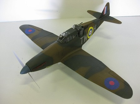 Boulton-Paul Defiant - Scale WW2 British turret fighter Model Airplane Kit