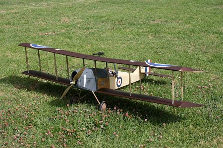 Martinsyde G.100 Elephant - Scale WW1 British Fighter Bomber Biplane Model Airplane Kit