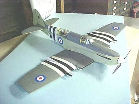 Fairey Firefly - Scale WW2 British fighter bomber Model Airplane Kit