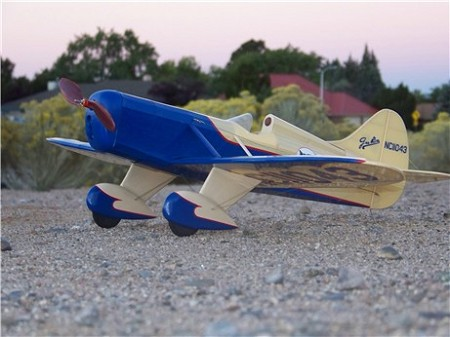 Gee Bee D - Sport scale Civilian racer Model Airplane Kit