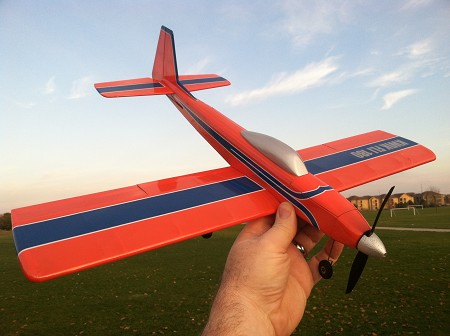 Kwik Fli 180 - Scale model of Phil Kraft's famous Kwik Fli Model Airplane Kit