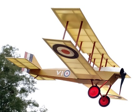 DeHavilland DH-6 - Sport scale British WW1 Observation Model Airplane Kit