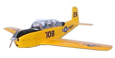 Beechcraft T-34A/B Mentor - Sport scale American trainer Model Airplane Kit