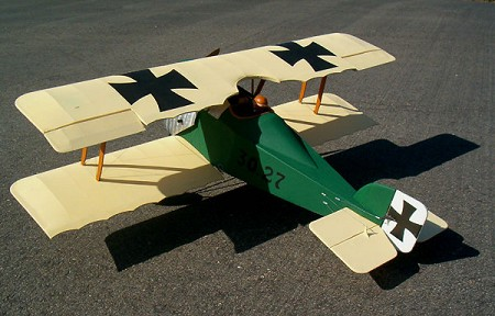 Aviatik 30.27  N075 - Sport 1/8 scale WW1 Austrian fighter Model Airplane Kit