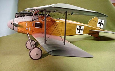 Albatros D.II  N041 - Sport 1/10 scale WW1 German fighter Model Airplane Kit