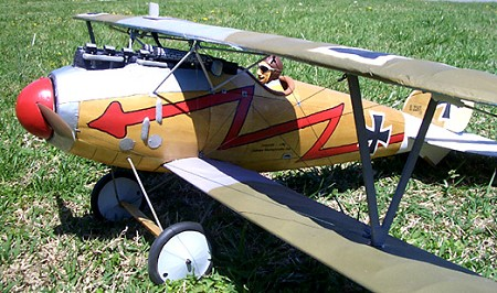 Albatros D.Va  N043 - Sport 1/10 scale WW1 German fighter Model Airplane Kit