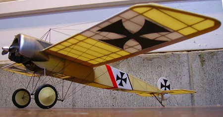 Fokker E.III  N167 - Sport 1/16 scale WW1 German fighter Model Airplane Kit