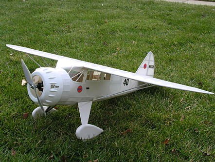 Mister Mulligan DGA-6  N038 - Sport ~1/9 scale Golden Age American racer Model Airplane Kit
