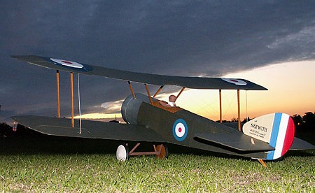Sopwith Pup SE  N195 - Sport 1/8 scale WW1 British fighter Model Airplane Kit