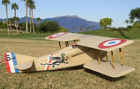 SPAD VII  N085 - Sport 1/9 scale WW1 French fighter Model Airplane Kit