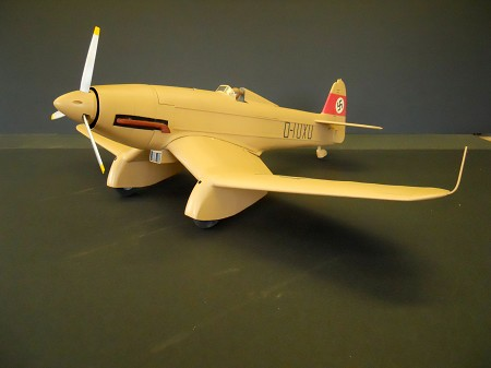 Blohm und Voss Ha-137/V5 - 1/10 Scale German ground-attack aircraft of the 1930s Model Airplane Kit