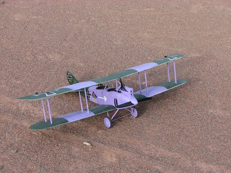 DFW C.V - Scale WW1 German Observation Biplane Model Airplane Kit