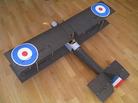 DeHavilland DH-6 - Scale WW1 British Reconnaissance Biplane Model Airplane Kit