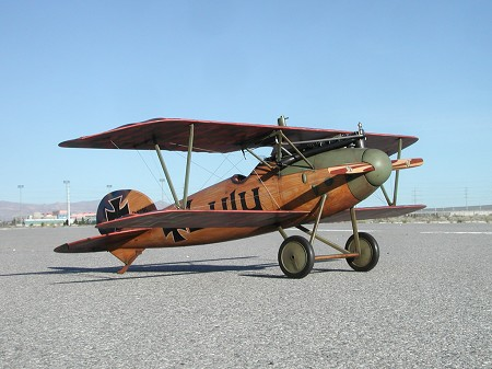 Albatros D.Va - Sport scale German WW1 Fighter Model Airplane Kit