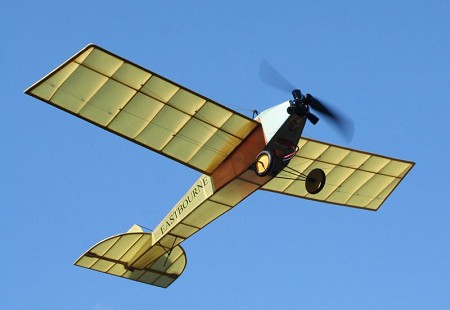 Eastbourne Monoplane 1913 - Sport scale Early British Model Airplane Kit