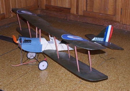 Armstrong Whitworth FK-3 - Scale WW1 British Reconnaissance Scout Biplane Model Airplane Kit